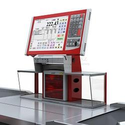 """POS-система Front-Master (12"""" сенсорный монитор + системный блок + программируемая клавиатура)"""