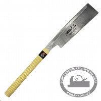 Пила обушковая Shogun Dozuki Saw, Premium, 240мм, прямая деревянная рукоять