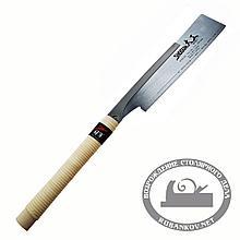 Пила обушковая Shogun Dozuki Saw, Premium, 240мм, с гибким окончанием, прямая деревянная рукоять