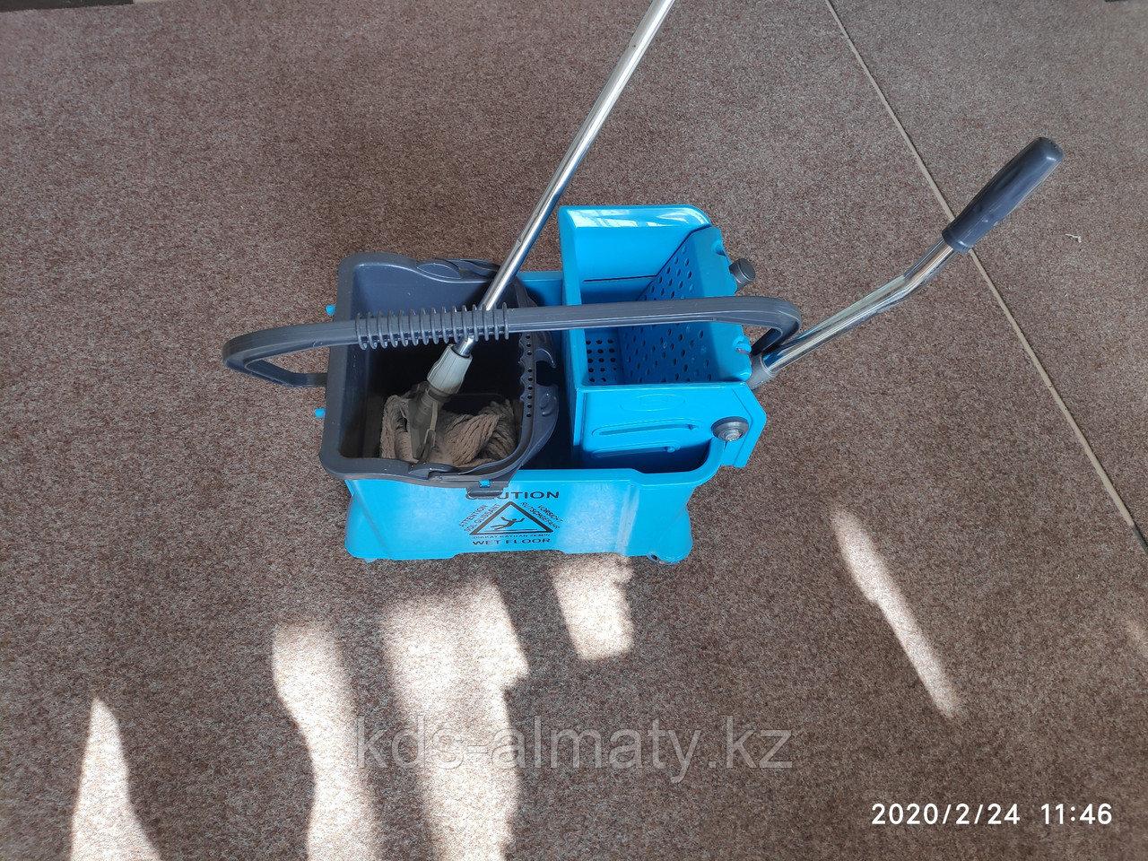 Тележка для уборки (для клининга) без швабры