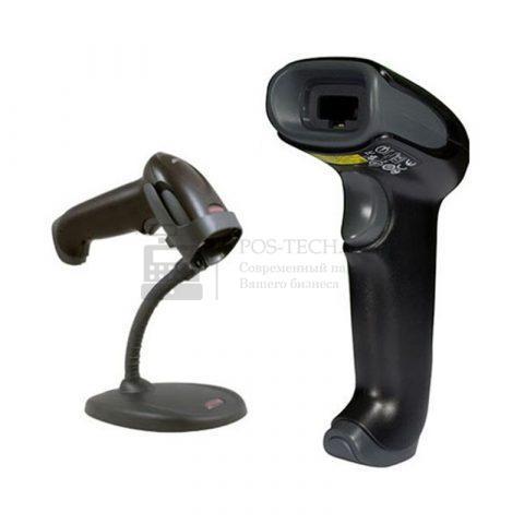 Сканер штрихкода (ручной, лазерный) 1250g lite, подставка, кабель USB арт. 1250GHD-1USB1LITE