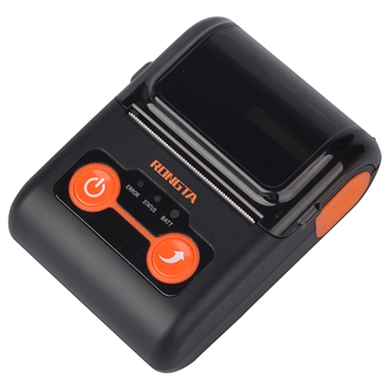 Мобильный термопринтер чеков Rongta RPP02B-E