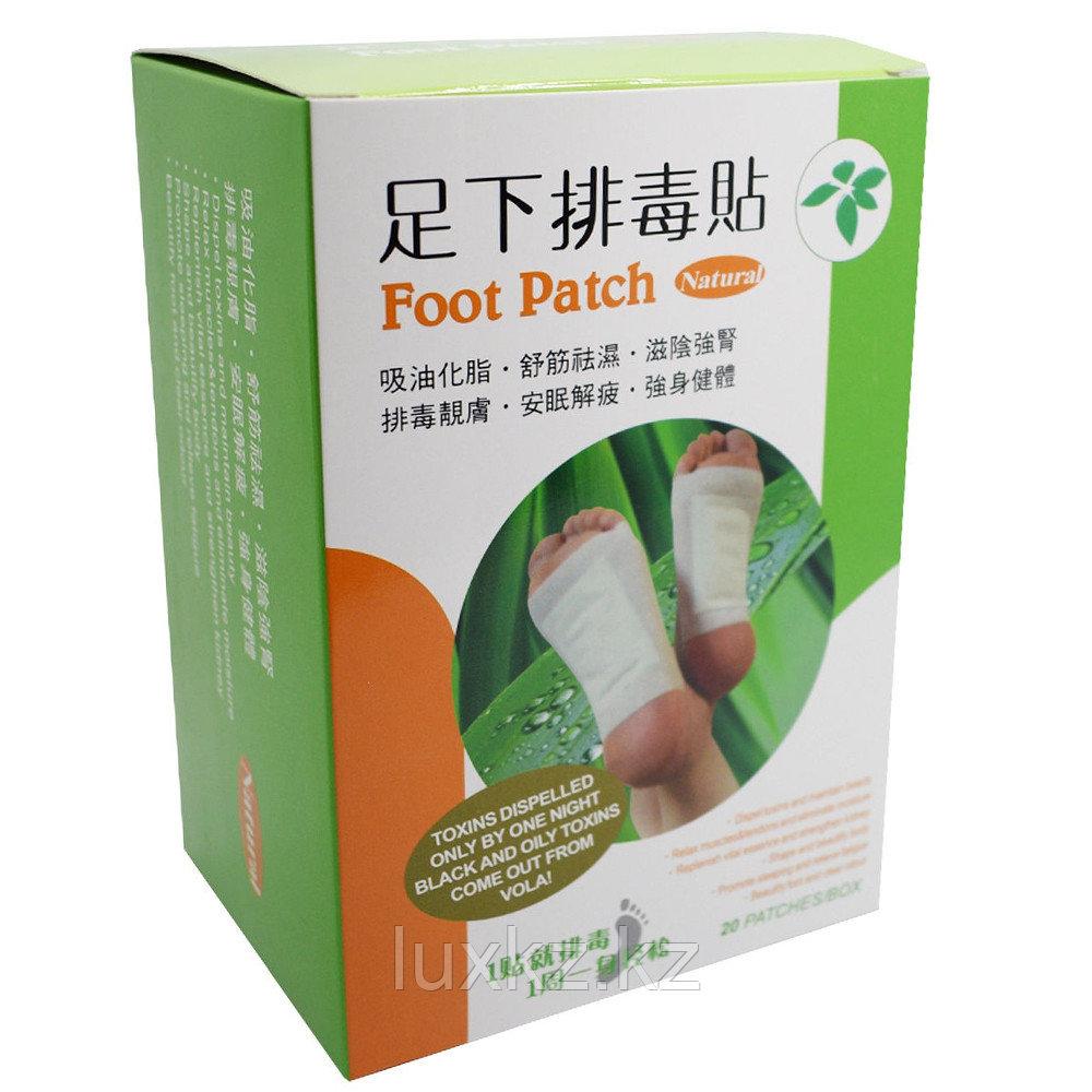 Токсиновыводящий пластырь Foot Patch