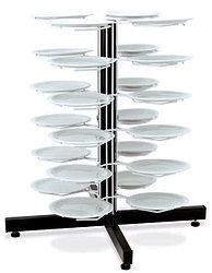 Держатель «MetalCarrelli» на 24 тарелки (180 мм и 240 мм) [3018]