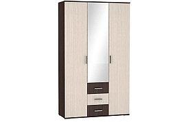 Шкаф для одежды 3Д  Белла, Дуб Атланта, БТС (Россия)