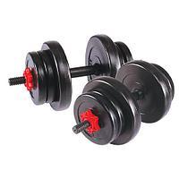 Гантель сборная Lite Weights 20 кг (10 кг х 2 шт)