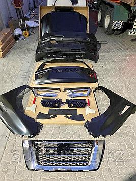 Комплект рестайлинга на Nissan Patrol Y62 2010-2019 под 2020 г.