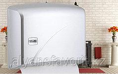Диспенсер для листовых бумажных полотенец Z укладки K1В металлик .Vialli