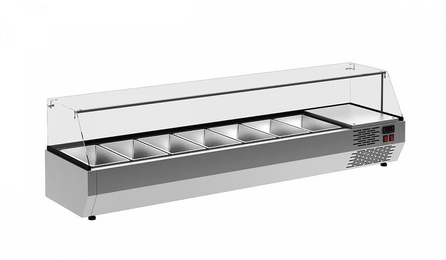 Витрина холодильная Полюс A30 SM 1,7-G 0430