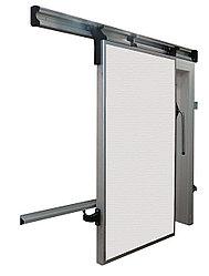 Дверной блок для холодильной камеры. Распашная дверь с проемом 1200х2000
