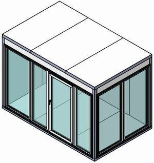 Камера холодильная со стеклом КХН-7,71 Ст (2260*1960*2200)