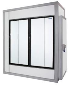 Камера холодильная со стеклянным фронтом Polair 1960 1660 2460