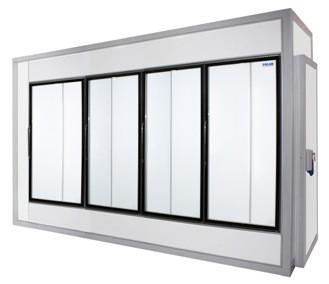 Камера холодильная со стеклянным фронтом Polair 3760 1960 2460