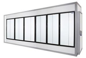 Камера холодильная со стеклянным фронтом Polair 5260 1660 2460
