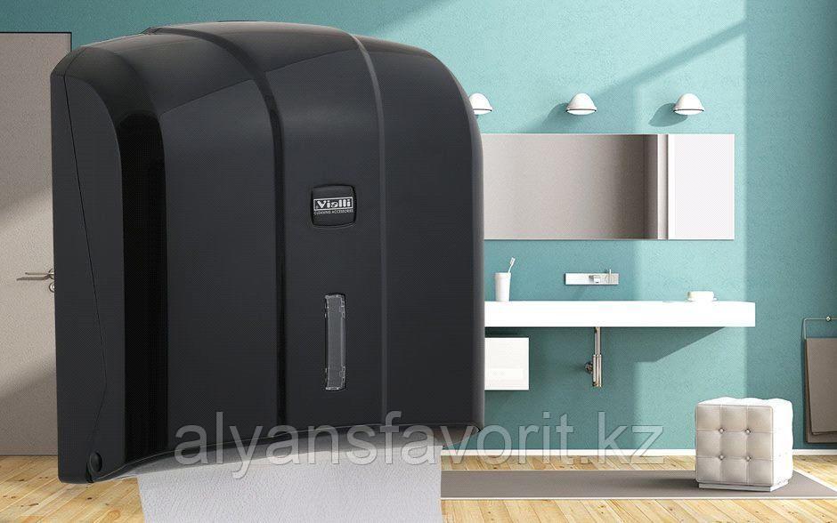 Диспенсер для листовых бумажных полотенец Z укладки Vialli KH-300B (Турция)