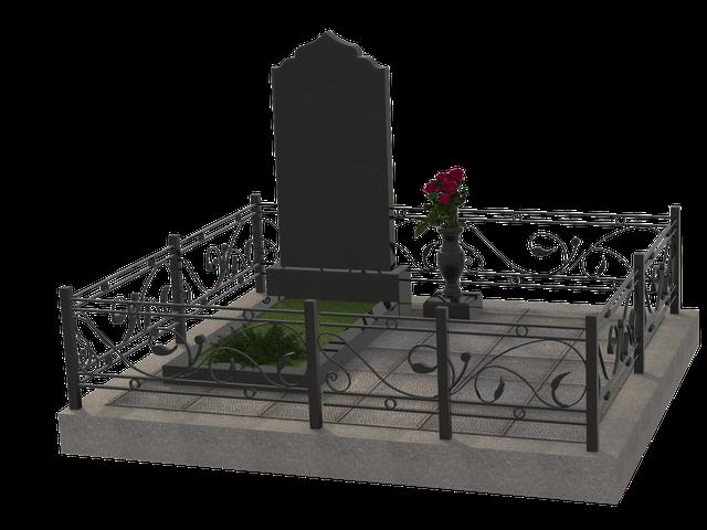 Гранитные комплексы на 1 могилу