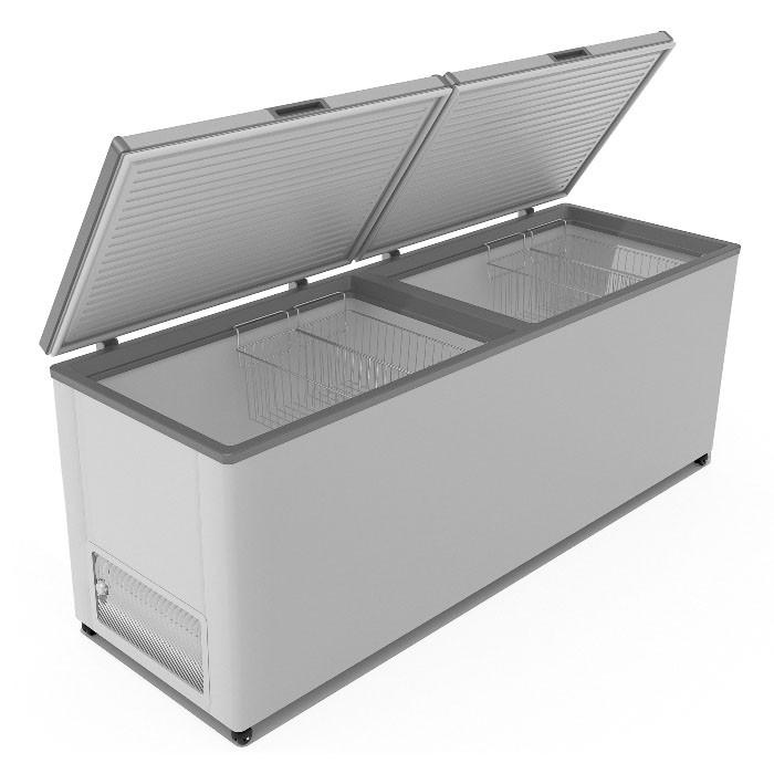 Морозильный ларь Frostor F800SD глухая крышка