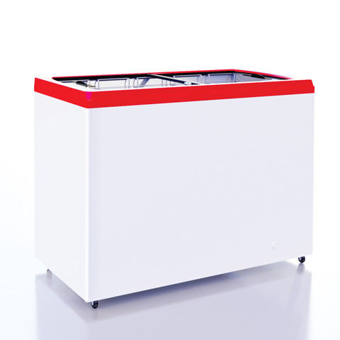 Морозильный ларь Italfrost CF600F (ЛВН-600П) прямое стекло