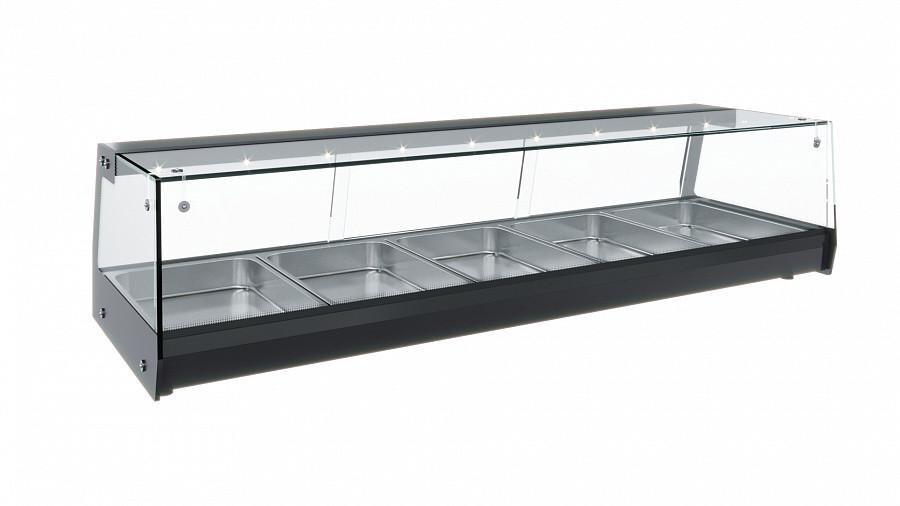 Настольная холодильная витрина Полюс АС37 SM 1,8-1