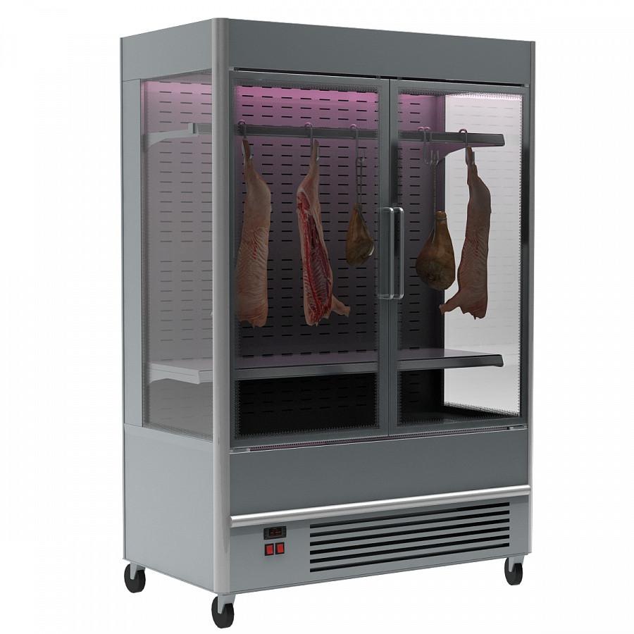 Пристенная витрина для мяса Полюс FC20-07 VV 1,0-3 X7