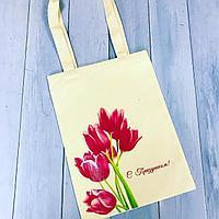 Нанесение логотипов на эко сумки