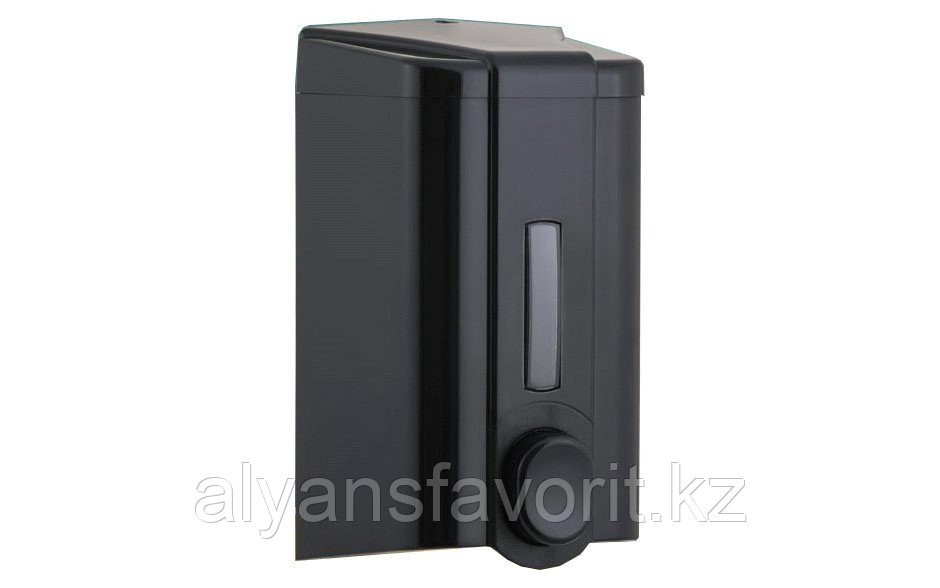 Диспенсер (дозатор) для жидкого мыла Vialli S4B (чёрного цвета) 1000 мл.