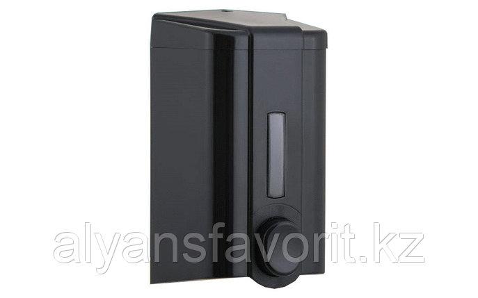 Диспенсер (дозатор) для жидкого мыла Vialli S4B (чёрного цвета) 1000 мл., фото 2