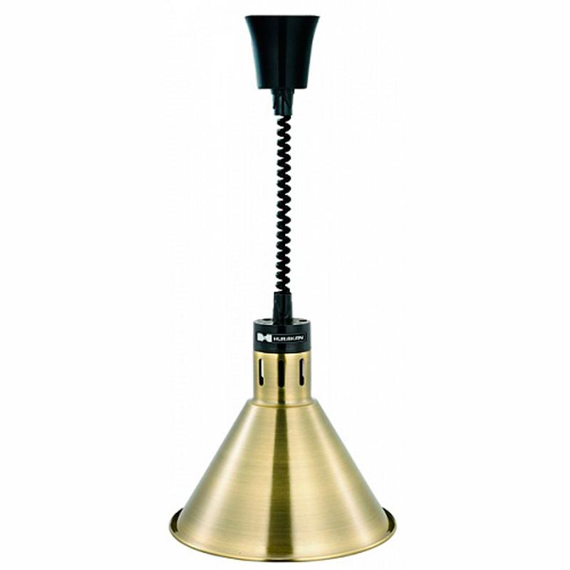 Лампа инфракрасная Hurakan HKN-DL800 БРОНЗ.