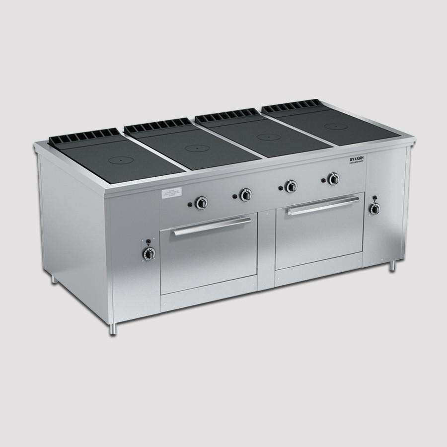 Плита газовая Вулкан ПРГ-IIА-4С 2ДШ Maxi