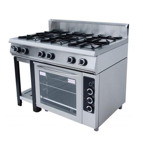 Плита газовая Гриль Мастер Ф6ПДГ/800 с комбинированной духовкой (50004)