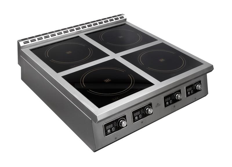 Плита индукционная 4-х конфор. Luxstahl ПИ 4-98