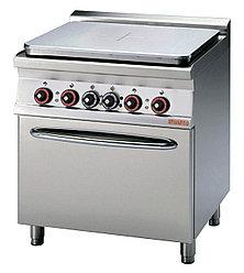 Плита электрическая LOTUS TPF-78ET сплошная поверхность нагрева, с жарочным шкафом (серия 70)