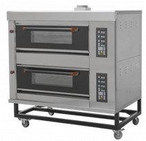 Подовый пекарский газовый шкаф с электронным управлением Гриль Мастер ШЖГ/2 (4 противня) 13080