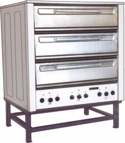 Шкаф жарочный ТОРГМАШ (Люберцы) ШПЭСМ-3М с пароувлажнением (в обрешетке)