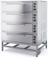 Шкаф пекарский четырехсекционный МХМ ШПЭ104 K