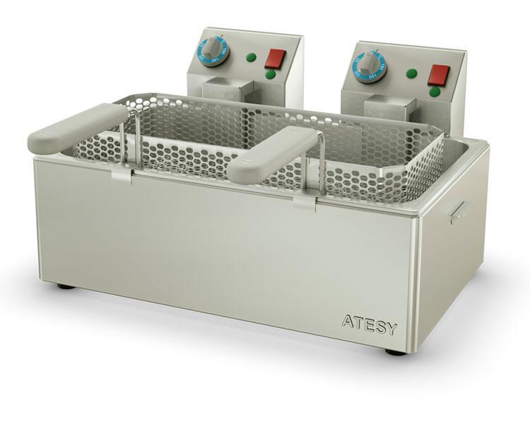 Электрофритюрница Atesy Панда-ЕВРО 1х1/1-Э 1-но секц.