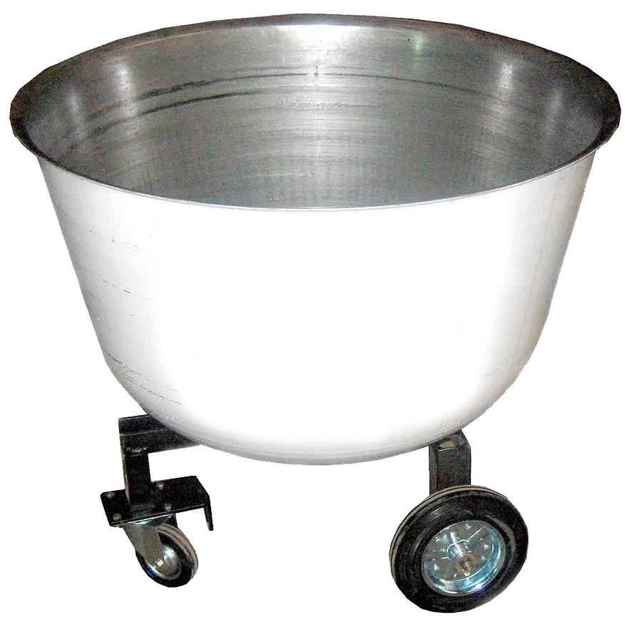 Дежа подкатная 140 л (углеродистая сталь)