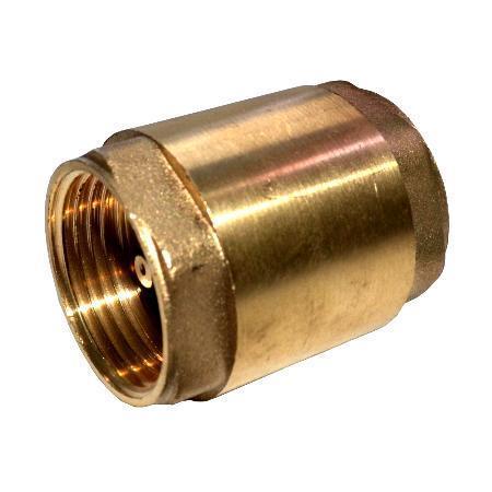 Клапан обратный латунный муфтовый Ду 32