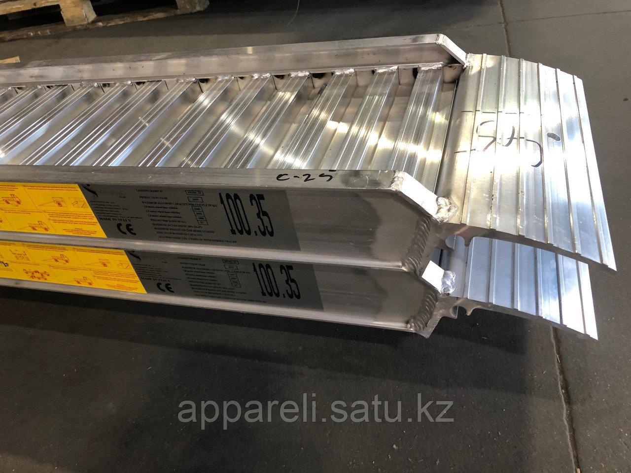 Производство трапов сходней алюминиевых аппарелей 2300 кг