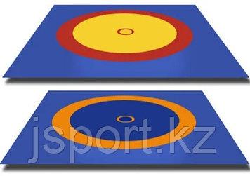 Покрышка для борцовского ковра (трехцветный) 10м * 10 м