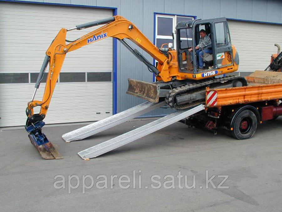 Производство трапов сходней алюминиевых аппарелей 5200 кг