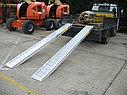 Производство трапов сходней алюминиевых аппарелей 5200 кг, фото 3
