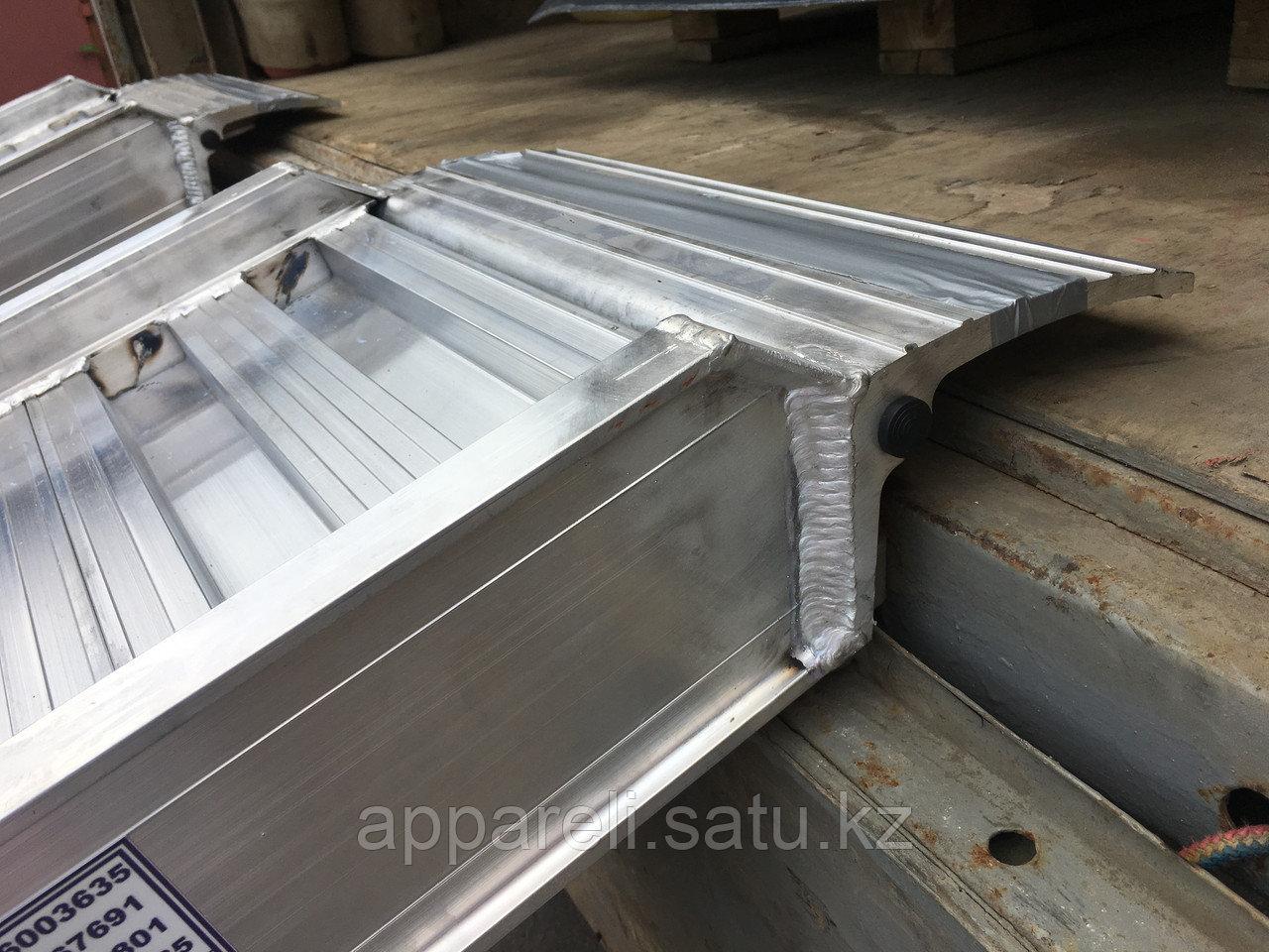 Производство трапов сходней алюминиевых аппарелей 4900 кг