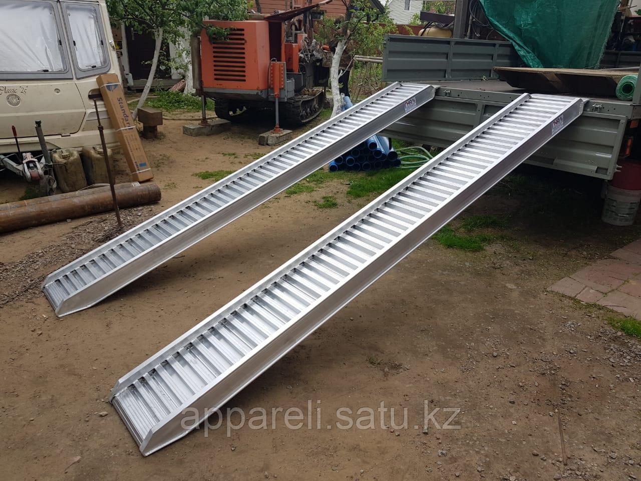 Производство трапов сходней алюминиевых 6450 кг