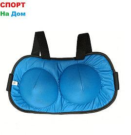 Нагрудник для карате для девочек   Размер XS (цвет синий)