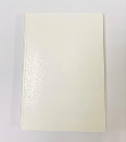 Ежедневник Santiago, c казахстанским блоком, 14.5 x 20.5. (Белый)