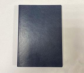 Ежедневник Santiago, c казахстанским блоком, 14.5 x 20.5. (синий)