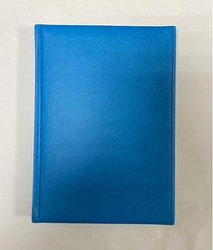 Ежедневник TUCSON, с казахстанским блоком, 14.5 x 20.5 см. (Голубой)