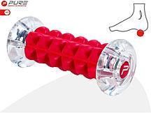 Массажер для ног (роликовый) PURE2IMPROVE CRYSTAL FOOTROLLER