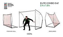 Футбольные ворота - стенка (3 в 1) QUICKPLAY SPOT ELITE REBOUNDER 8x6